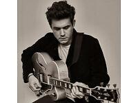 John Mayer - Thursday 11th May - Front Row Seats - Face Value Sale