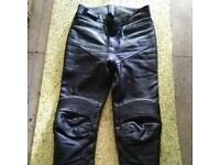 Mototcycle leather pants