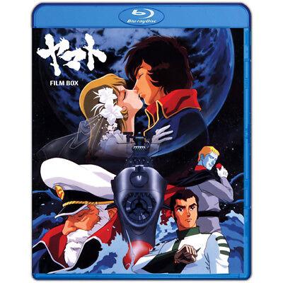 Space Battleship Yamato (Star Blazers) Film Saga ENGLISH Bluray Box (Movies 1-6)
