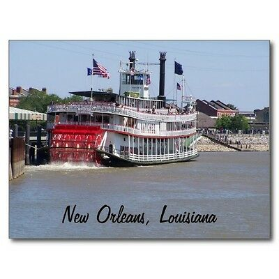 "*Postcard-""The Riverboat""...Mississippi River/New Orleans, Louisiana"