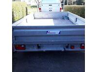 Galvanised trailer 3m x 2m - double axle