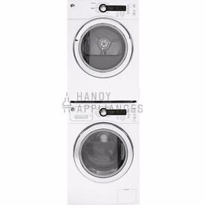 Laundry Center, 24'', White, Front-load, NEW! GE