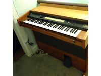 Wooden electric organ for sale with foot pedal