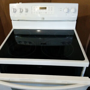 Kenmore,  Glass Top,  30 inch,  Self cleaning oven, Range