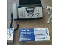 Brother phone fax machine