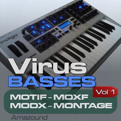 Access Virus Bass Samples para Motif Es XS XF Moxf Modx Montage...
