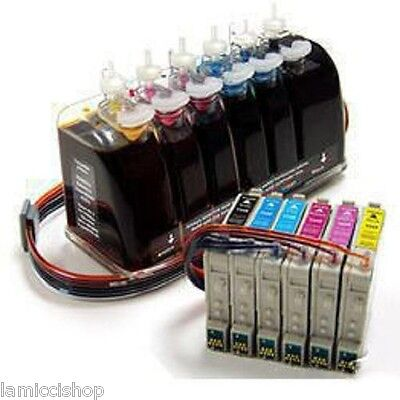 Gigablock Continuous Ink System For Epson Artisan 730 And...