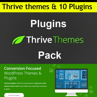 Thrivethemes Wordpress Themes Plugins 10 Flagship Products - Updated