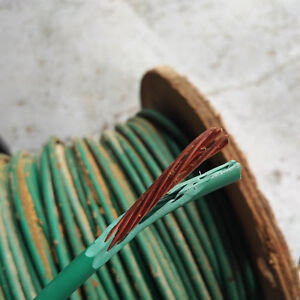 Copper wire TW75 AWG 600 Volt