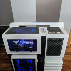 Thermaltake level 10 gt snow edition gaming case!