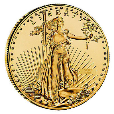 Изображение товара 1 oz $50 Gold American Eagle Coin