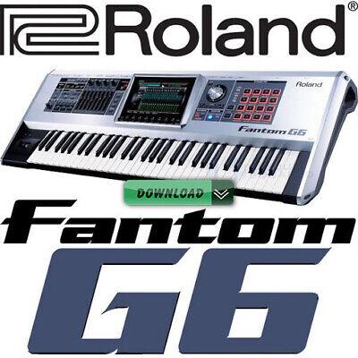 ROLAND FANTOM G6 / G7 / G8 for KONTAKT comprar usado  Enviando para Brazil