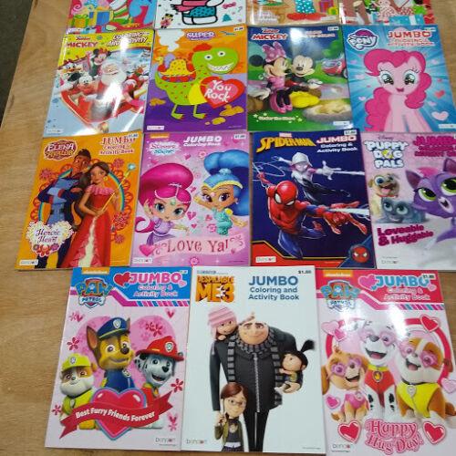 lot of 75 Coloring Books Samaritan's Purse Shoebox christmas child