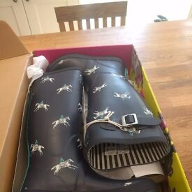 Size 5 Joules Wellies - Never Been Worn