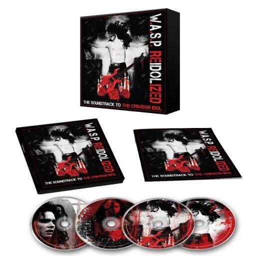 Купить Re-Idolized W.A.S.P WASP Reidolized CD Ships Worldwide 2cd + dvd + bluray