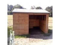 Shed / Field shelter 10 x 8