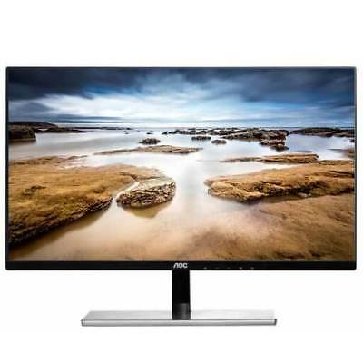 "27"" AOC I2779VH LED LCD IPS Slim Bezel Monitor HDMI, VGA 1080p Widescreen, Black"