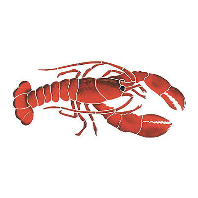 Lobster Ceramic Swimming Pool Mosaic