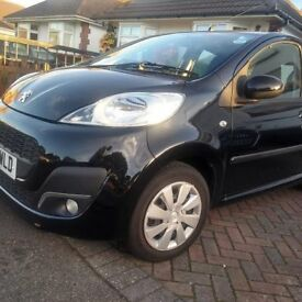 2012 Peugeot 107 Active 5 door, Low Miles, £0 Tax