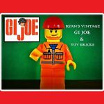 RYANS VINTAGE GI JOE & TOY BRICKS