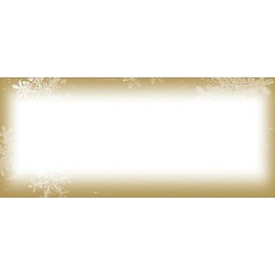Great Papers® Holiday Card Envelopes Frosted Holiday Wishes, 40/Count
