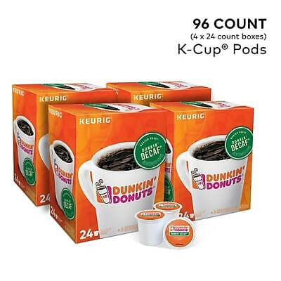 Dunkin' Donuts Decaf Coffee K-Cup Pods, 96 ct. Free Shipping! Dunkin Donuts Free Coffee