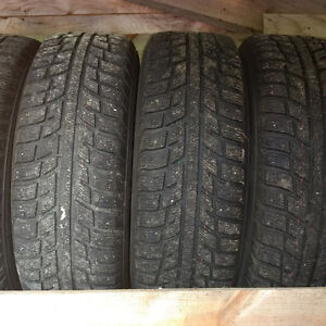 WINTER TIRES AND RIMS-215/65R16
