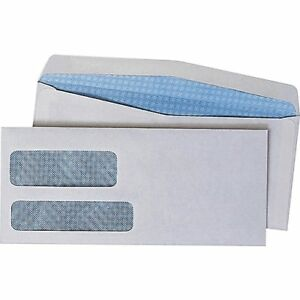 "Quality Park Products4 1/8"" x 9 1/2"" White  Envelopes 500/pack"