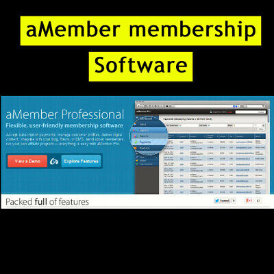 Amember Pro - Flexible User Frindly Membership Software - Limted Time