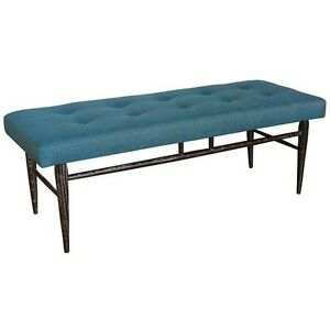 Upholstered Bench & Storage Cube