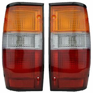 Pair of Tail Lights Mitsubishi Triton 10/86-09/96 New ME/MF/MG/MH/MJ Rear Lamps