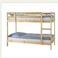Ikea bunk bed like new condition