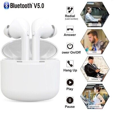 TWS Im Ohr Kopfhörer Bluetooth 5.0 Stereo Sport Kabellos Headset Handy PC Gaming (Bluetooth-handy)