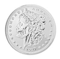Morgue-Anne 1oz zombie SILVER coin - piece en argent pur