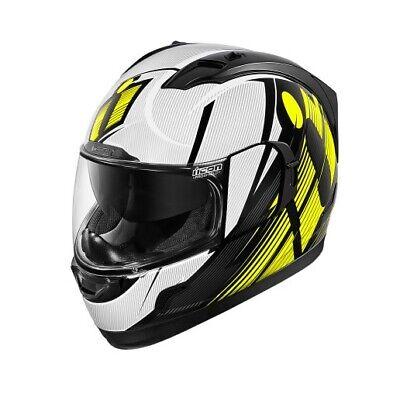 Choose Size Blue//Red//White Icon MotoSports Glory DC18 Alliance GT Helmet