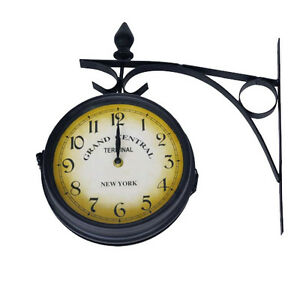 RAILWAY-STATION-CLOCK-GRAND-CENTRAL-STATION-REPLICA-NEW-YORK-OUTDOOR-GARDEN-20CM