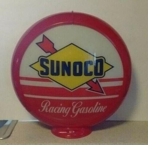 SUNOCO RACING GASOLINE GAS PUMP GLOBE STATION