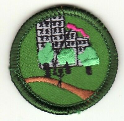Girl Scout Junior Badge - OUTDOORS IN THE (Junior Girl)
