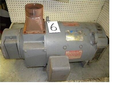 Magnetek 5cd164ma054a840 Dc Motor 20hp 17502300rpm 3phase With Encoder
