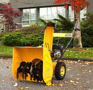SNOW  BLOWERS 6.5 TWO STAGE WITH REVERSE BRAND NEW