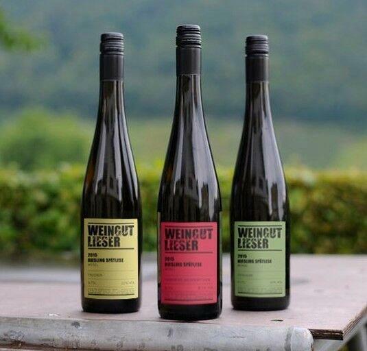 12 Fl. 2016 Mosel Riesling trocken 0117 Weißwein Weingut Lieser