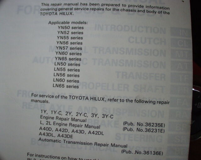toyota 2lt engine rebuild manual ebook