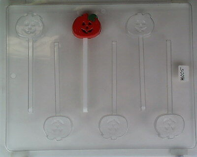 Pumpkin Smiling Small Lollipop Mold Molds Halloween Party Favors Trick Or Treat
