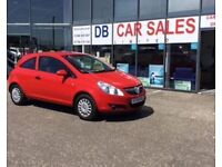 2009 09 VAUXHALL CORSA 1.0 LIFE 3D 60 BHP***GUARANTEED FINANCE***PART EX WELCOME ***