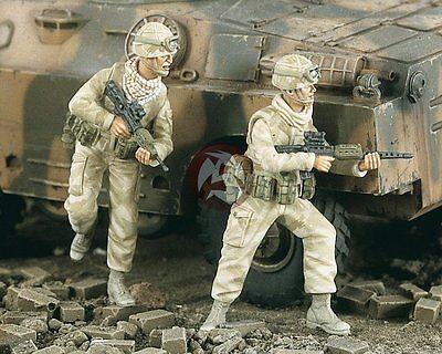 Verlinden 1/35 British Reconnaissance Team Soldiers in Gulf War 2 Figures 2038