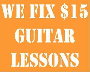 We Fix $15 Guitar Lessons Runcorn Brisbane South West Preview