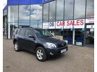 DIESEL !! 2006 56 TOYOTA RAV-4 2.2 XT4 D-4D 5D 135 BHP **** GUARANTEED FINANCE **** PART EX WELCOME