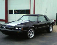 1986 ford mustang 5.0 convertable