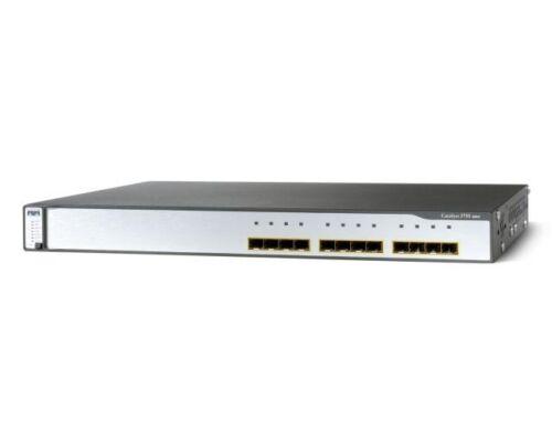 Cisco 3750g 12 Sfp-based Gigabit Ethernet Ports Catalyst Switch Ws-c3750g-12s-e