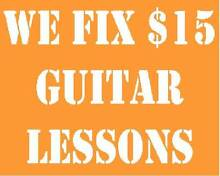 We Fix $15 Guitar Lessons Runcorn Brisbane South West Preview